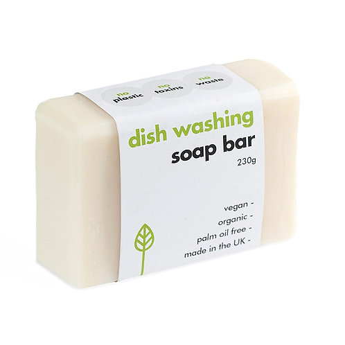 Washing up soap bar. Plastic Free. Zero waste.