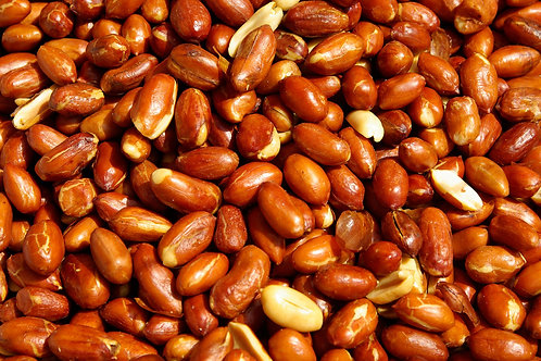 Organic Raw Peanuts with Skin, Zero Waste Bulk Foods, UK
