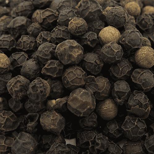 Organic black peppercorns. plastic free. zero waste bulk foods. horsham. dorking. online
