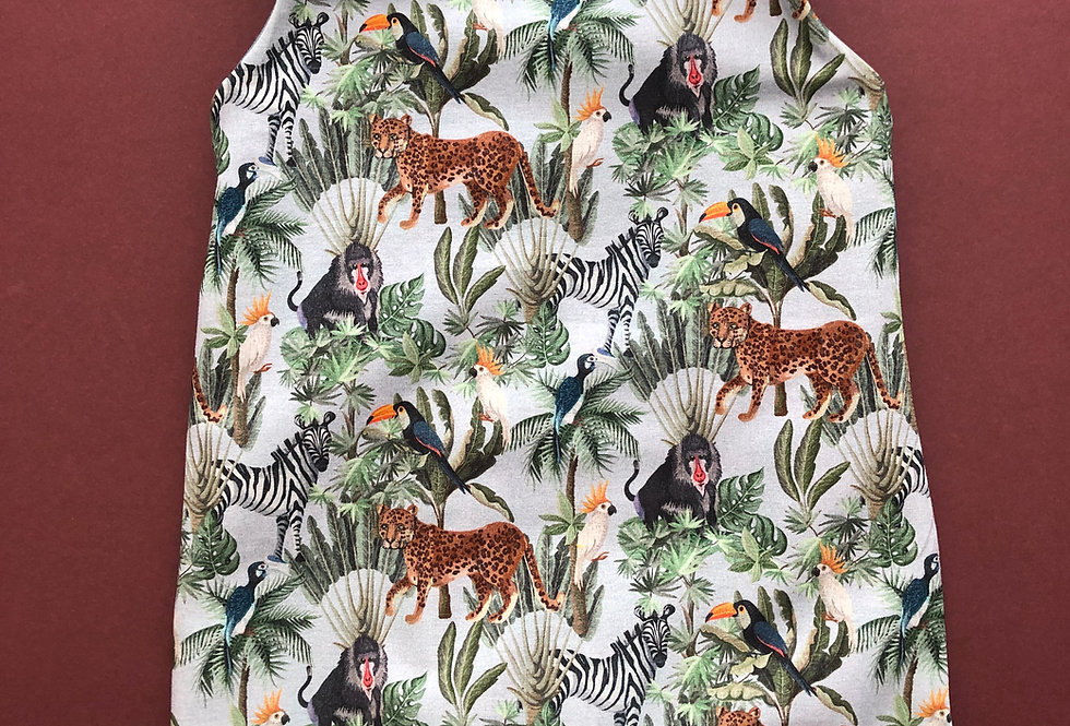 Safari Short Leg Romper