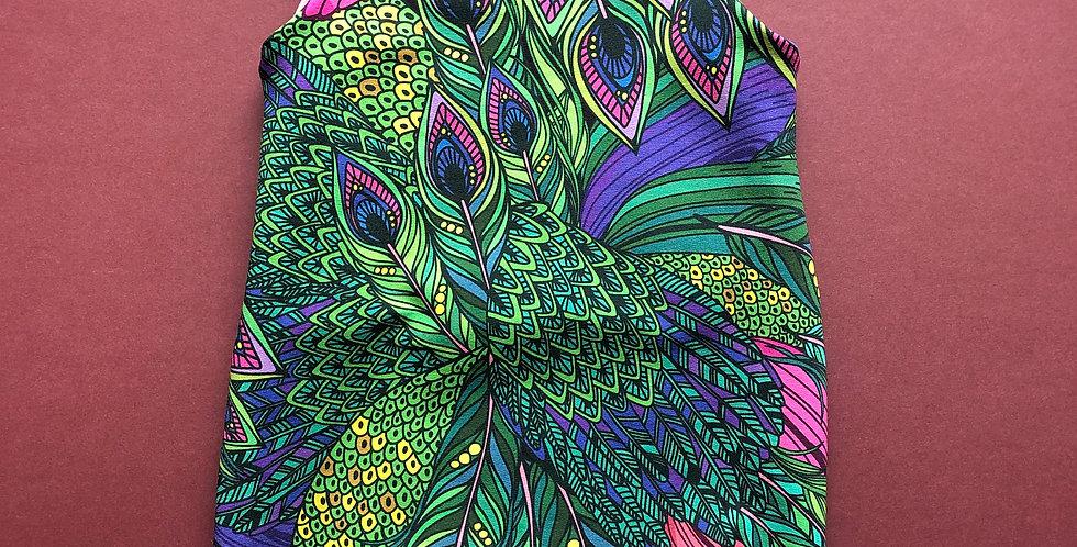 Peacock No Cuff Romper