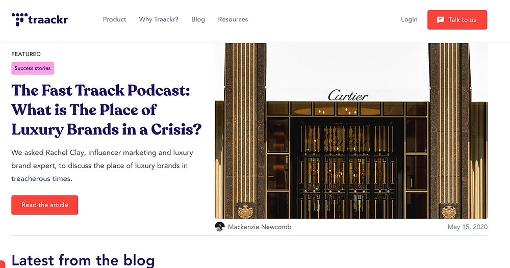 Traackr Influencer Marketing Blog
