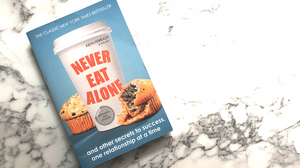 never eat alone business book