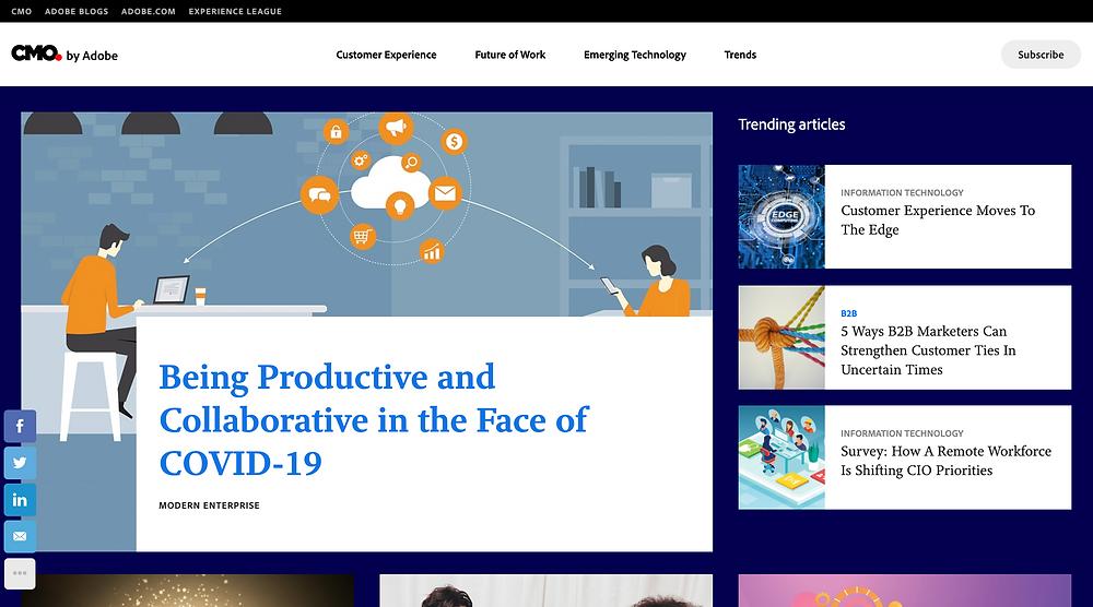 CMO Adobe Marketing Blog