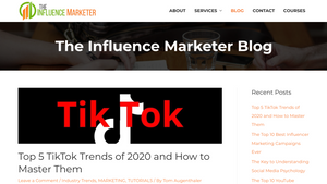 The Influence Marketer Blog