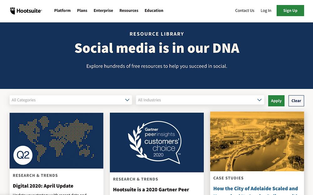 Hootsuite Social Media Blog