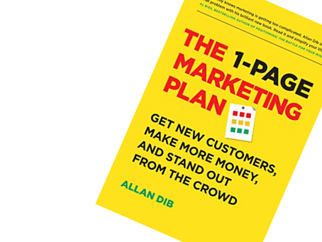 Book Review: The 1-Page Marketing Plan