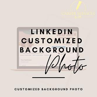 LinkedIn Customized Background Photo