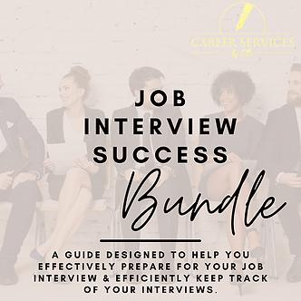Job Interview Success Bundle