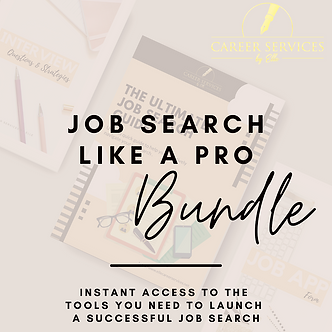 Job Search Like a Pro Bundle