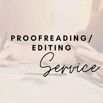 Proofreading / Editing Service