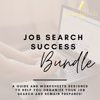 Job Search Success Bundle