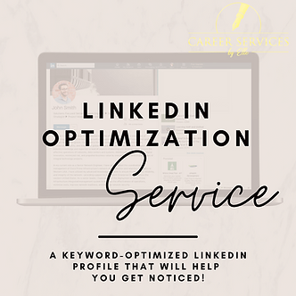 Upgrade to LinkedIn Profile Optimization Service