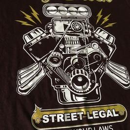 Estampa para Street Legal