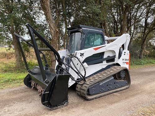 Bobcat T870 GyroTrac Mulcher package