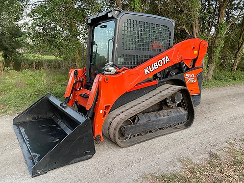 2018 Kubota SVL75 High Flow