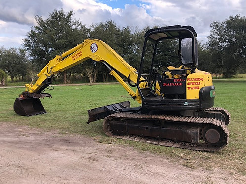 Yanmar Vio70 excavator with hyd thumb