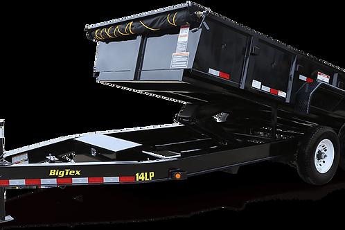 14,000 lb dump trailer