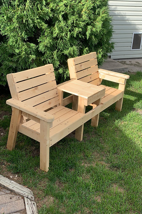 Tete-a-Tete  Outdoor Bench
