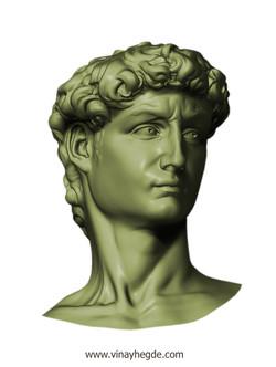 Replica of David