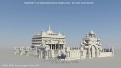 Temple environment