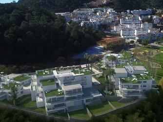 Newly built apartments Riverside Benahavis