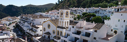 Benahavis village Marbella costa del sol spain