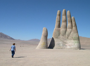 Hand of the Desert. The first movement of Atacameños is based on this landmark.