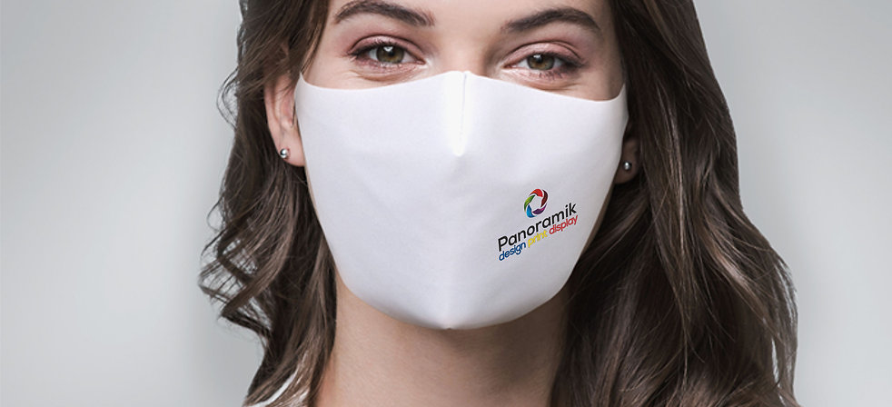 Printed Fabric Protective face masks