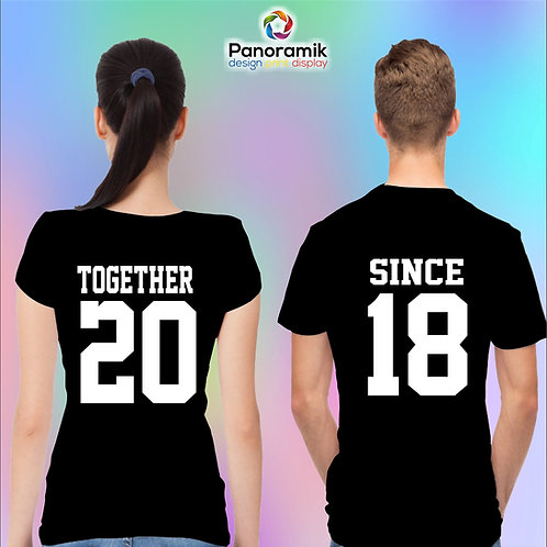 Couple T-shirts (Together)