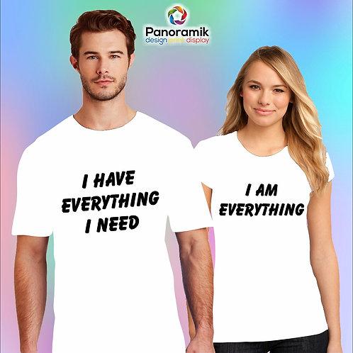 Couple T-shirts (I have everything i need)