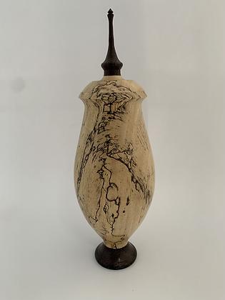 Spalted Tamarind /Wenge Hollow Form