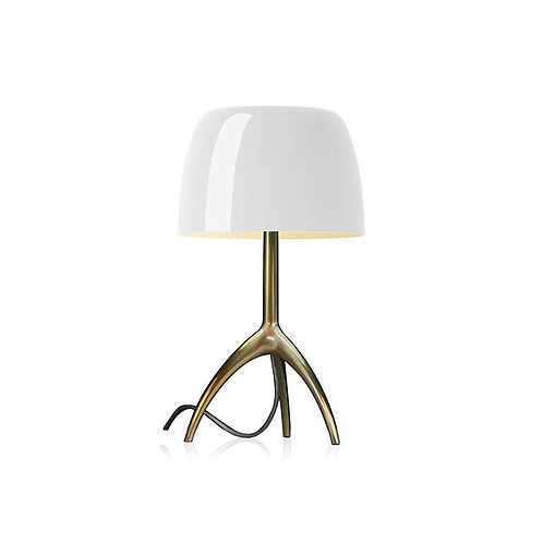 FOSCARINI Lampada da tavolo Lumiere piccola - champagne