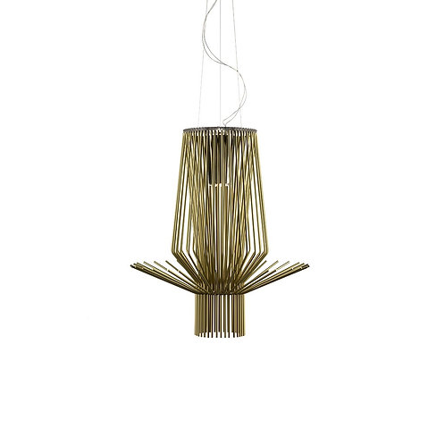 FOSCARINI Lampadario Allegretto Assai - oro