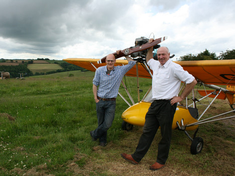 The Real Magnificent Men in their Flying Machines