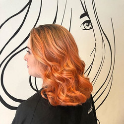 #Wella #colourfreshcreate is a hit again! #hypercoral #freshhairfeels #nofilterneeded #southporthair