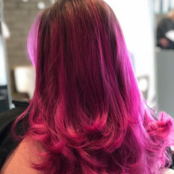 #magentahair #dontcare #freshhairfeels #nofilter #southporthairstylist #southporthairdresser #southp