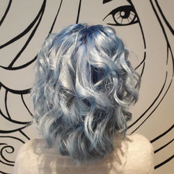 #bluehairgoals our lovely kerry changed her hair to #blue last week!! #nofilter #colourfreshcreate #