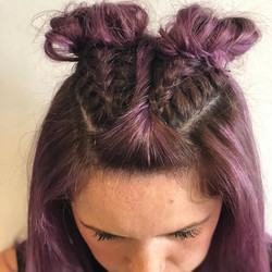 Festival hair; don't care!_Well actually I do care, I love festivals! I'm a Glasto-babe myself!_What