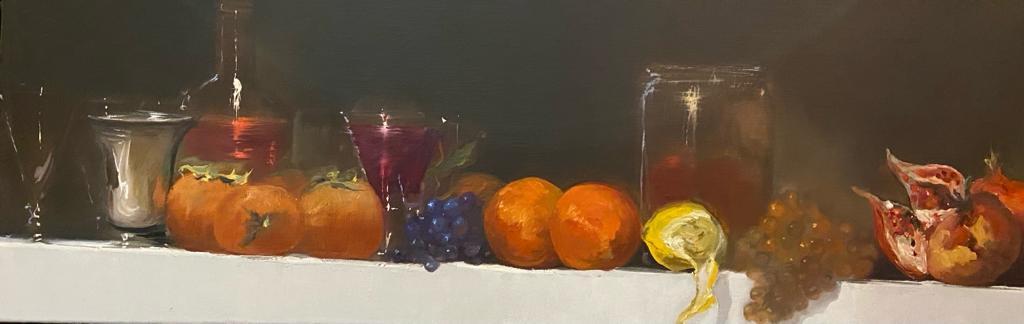 Nature Morte aux Oranges