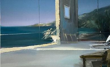 Un Air de Malaparte (100 x 81 cm) Huile