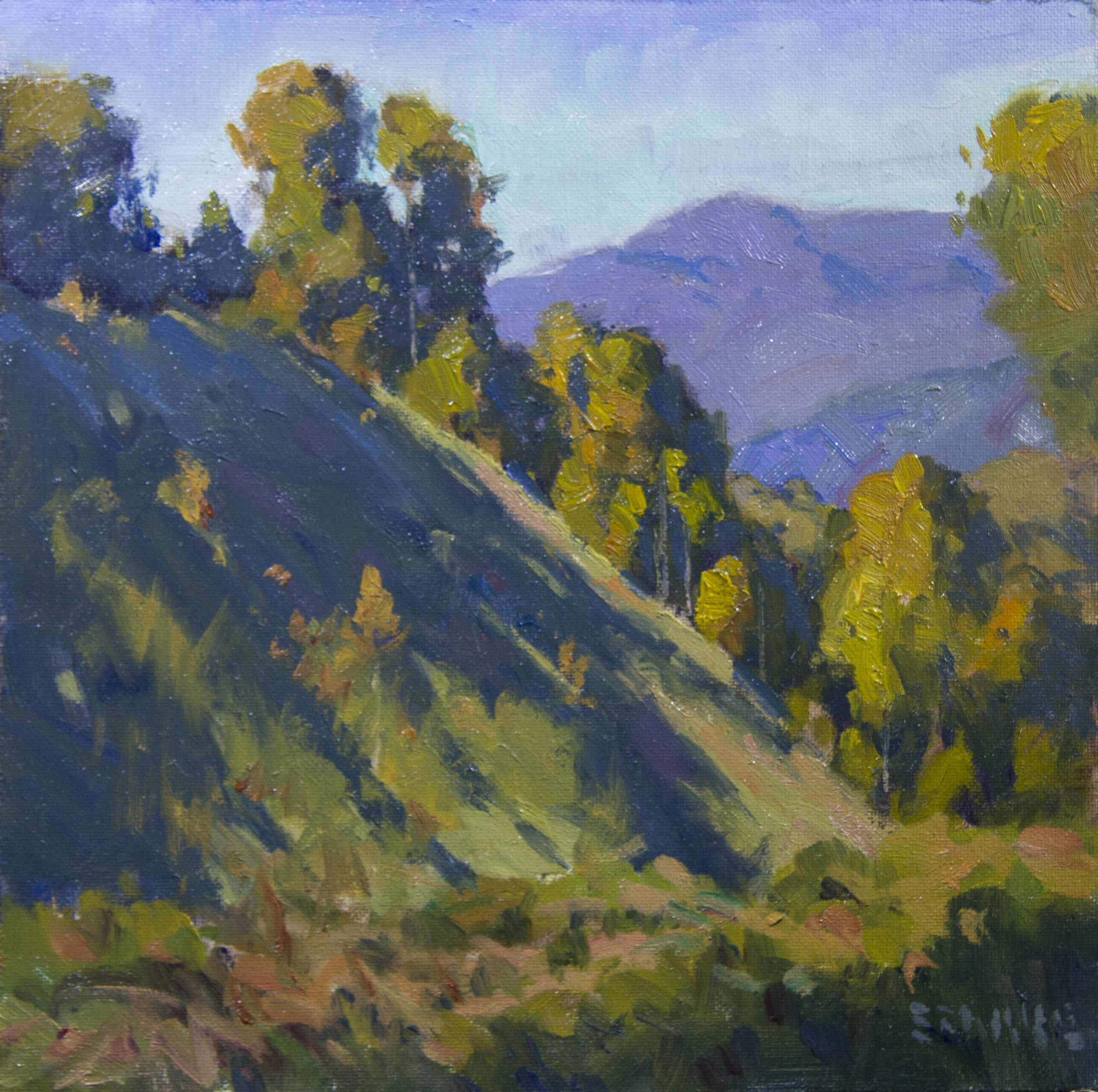 8x8Blue ridge Hillside8x8
