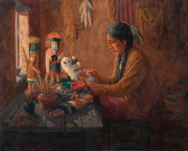 Maker of Kachina Dolls