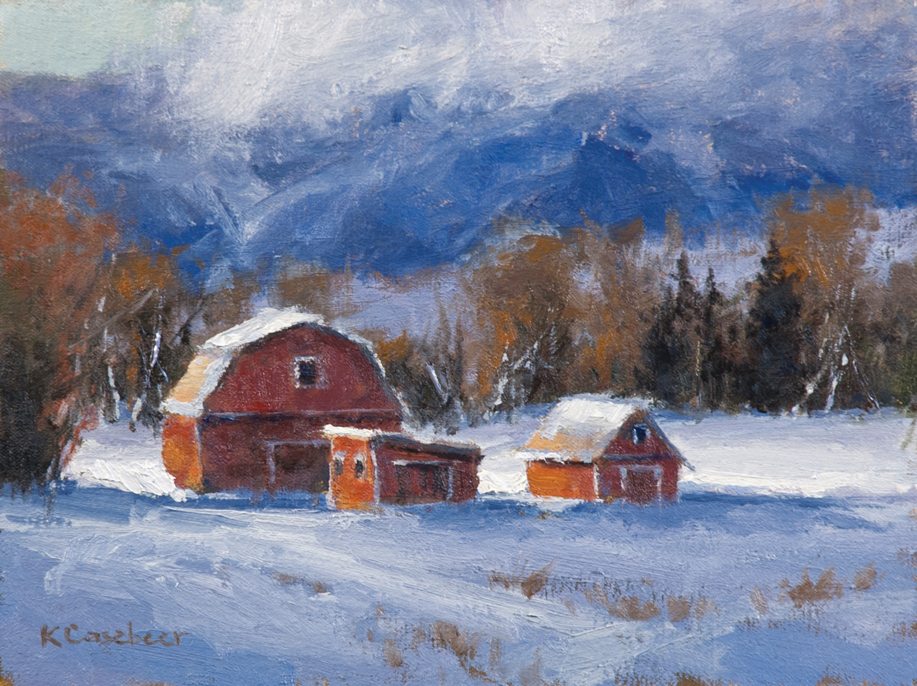 Casebeer_Yampa Valley Winter 9x12