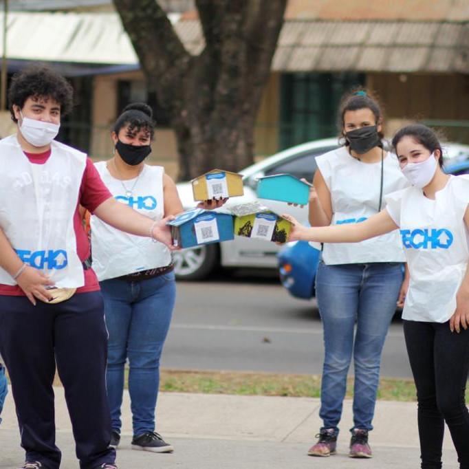 Colecta TECHO en La Plata