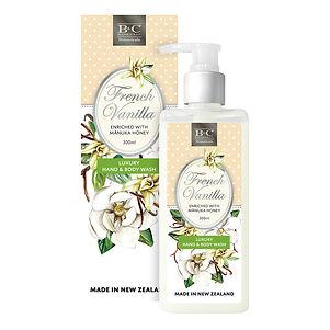B&C+French+Vanilla_Wash+Box_Bottle_300ml