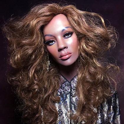 ~Beyonce~ Bust Vintage Mannequin
