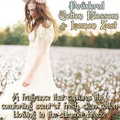Powdered Cotton Blossom & Lemon Zest Parfum