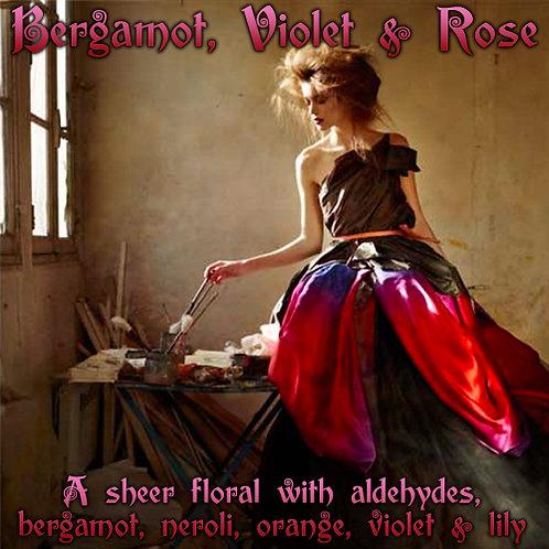 Bergamot, Violet & Rose Parfum