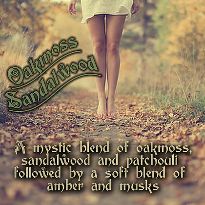 Oak Moss & Sandalwood